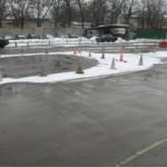 Площадка для практического вождения у Чкаловской